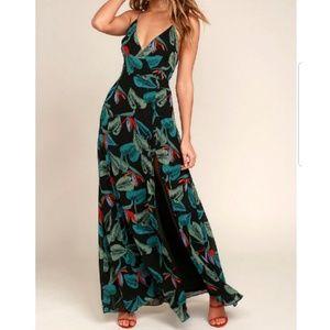 Lulu's Maxi Slit Dress